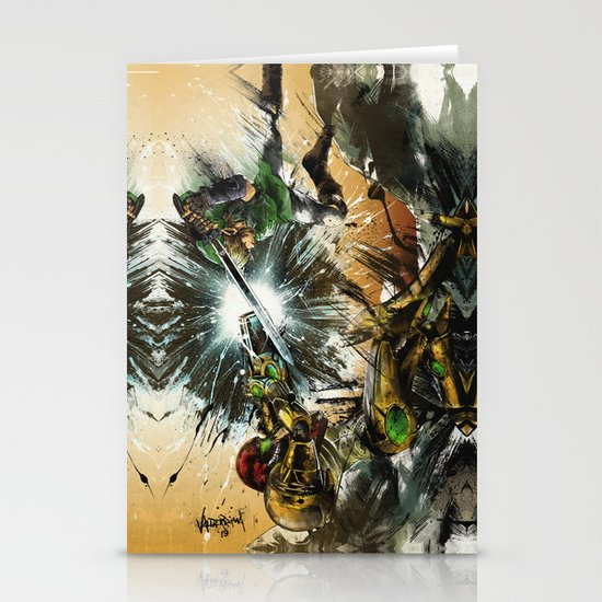 The Battlefield Stationery Card