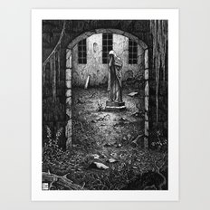 The Yard Art Print