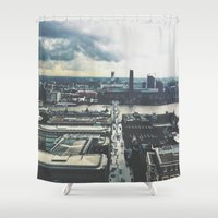London Below  Shower Curtain