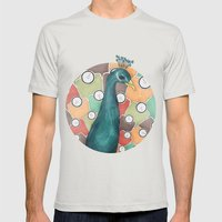 Weight of Beauty Mens Fitted Tee Silver SMALL