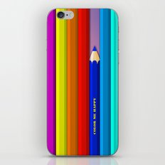 Color Me Happy :)  iPhone & iPod Skin