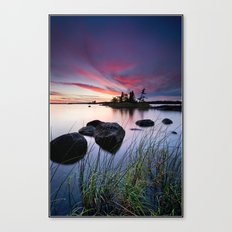 In the Weeds Canvas Print