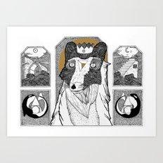 Seafox Art Print