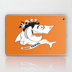 happy travel shark Laptop & iPad Skin