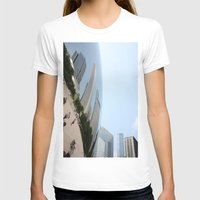 Distort Womens Fitted Tee White SMALL