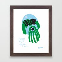 My Eye Is Only On You [S… Framed Art Print