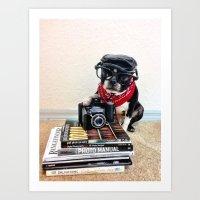 The Dog Photographer Art Print