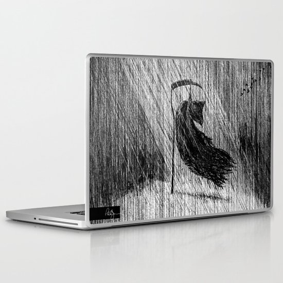 Death of Death Laptop & iPad Skin