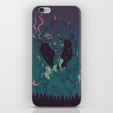 Night Spirits iPhone & iPod Skin