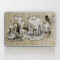 Cottbus Monument Skyline Illustration by carographic, Carolyn Mielke Laptop & iPad Skin
