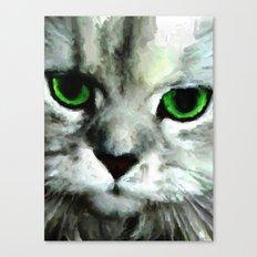 PURRFECT Canvas Print