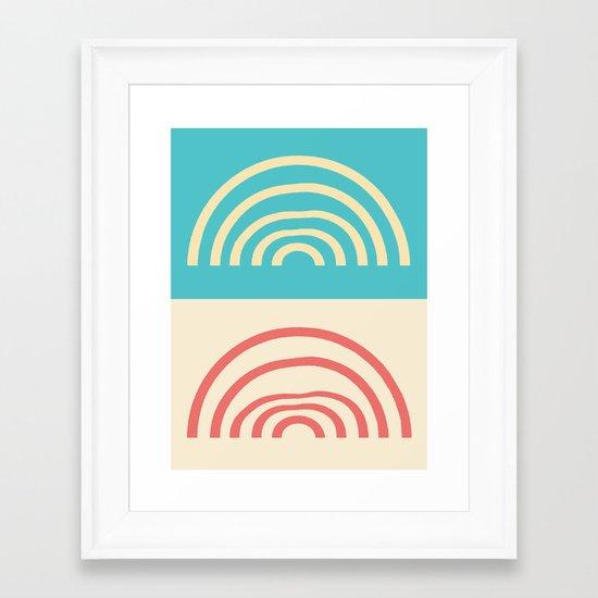 Laurel Canyon Framed Art Print