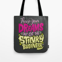 Stinky Business Tote Bag