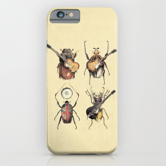 Meet the Beetles iPhone & iPod Case