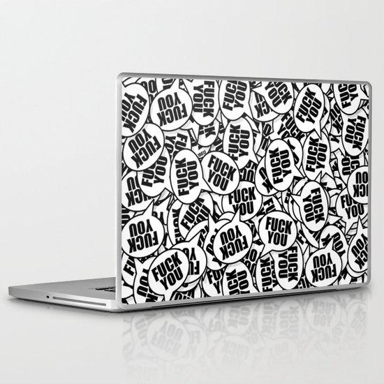 Fuck You. Laptop & iPad Skin