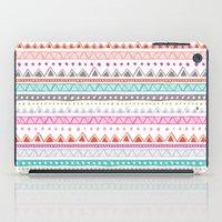 Half Full Stripe iPad Case