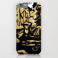 iPhone & iPod Case featuring Want fries with that! by Lee Grace Illustration