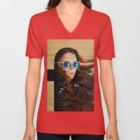 While Life Passes By Unisex V-Neck
