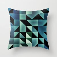 :: geometric maze VII :: Throw Pillow