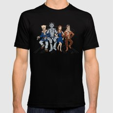 Wizard of Who SMALL Black Mens Fitted Tee