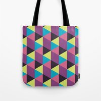 Prisma Shadows Tote Bag