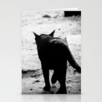 All In Black Stationery Cards