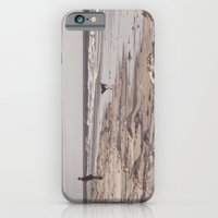iPhone & iPod Case featuring there's a man on the shoreline... by Chernobylbob