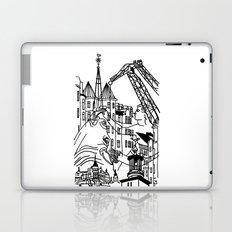 Three City Silhouettes Laptop & iPad Skin