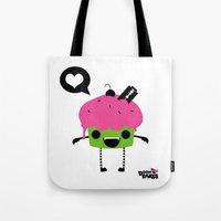 Heart Cuppy Tote Bag