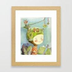 Little Terra Framed Art Print
