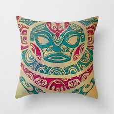 H tattoo Throw Pillow