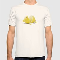 Limon Mens Fitted Tee Natural SMALL