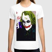 joker T-shirts featuring joker by Saundra Myles