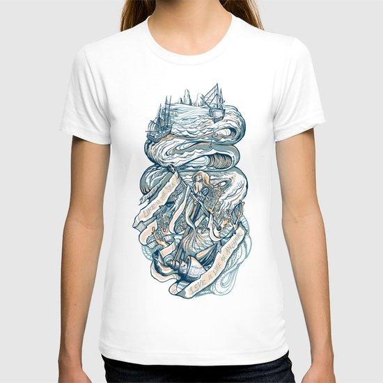 Life & Love at Sea T-shirt
