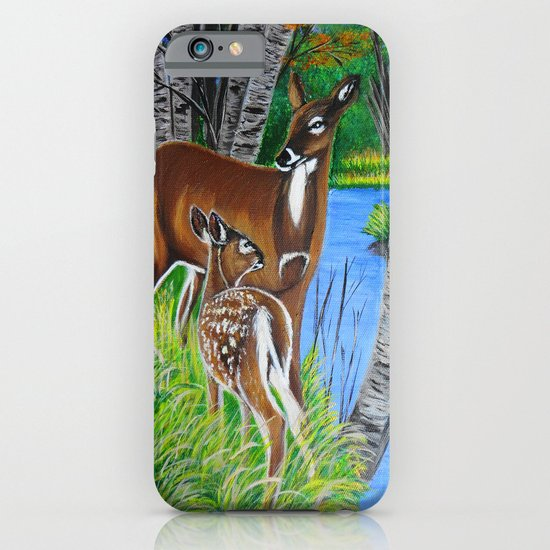 In the wooods  iPhone & iPod Case