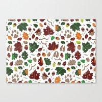 Forest Floor Tile Patter… Canvas Print
