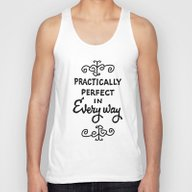 Practically Perfect In E… Unisex Tank Top