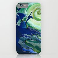 iPhone & iPod Case featuring Rage Against Poseidon by CSNSArt