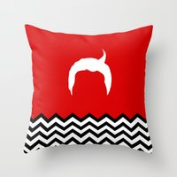Black Lodge Dreams: Dale… Throw Pillow