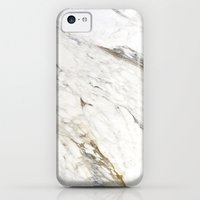iPhone 5c Cases featuring New Marble by Grace