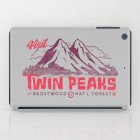 Visit Twin Peaks iPad Case