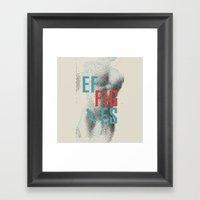 Effigies Framed Art Print