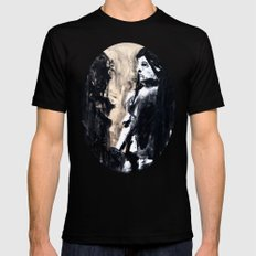 Reflections Black Mens Fitted Tee SMALL