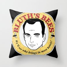 Bluth's Bees Throw Pillow