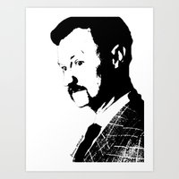 Mark Gatiss Art Print