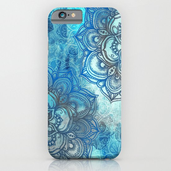 Lost in Blue - a daydream made visible iPhone & iPod Case