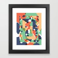 Color Study No. 1 Framed Art Print