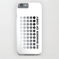 50 shades of grey iPhone 6 Slim Case