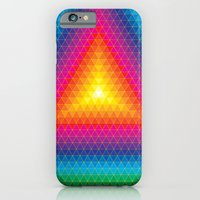 iPhone & iPod Case featuring Triangle Of Life by vidhi shah