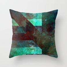 Emerald Nebulæ  Throw Pillow